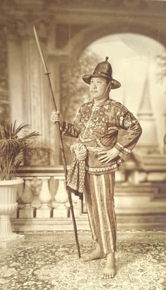 Traditional Thai Clothing, Traditional Outfits, Statue, History, Photos, Clothes, Art, Outfits, Art Background