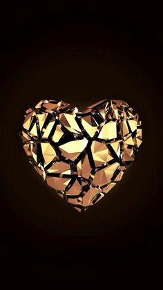 Diamond Wallpaper, Heart Wallpaper, Wallpaper Backgrounds, Wallpaper Ideas, Best Iphone Wallpapers, High Quality Wallpapers, Love Heart, Iphone 7 Plus, Ceiling Lights