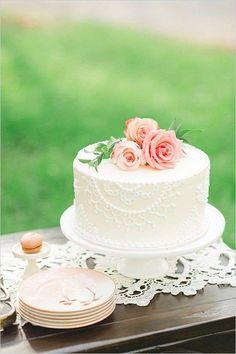 Torte nuziali semplici  (Foto 4/40) | Donna