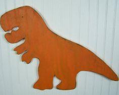 Large Dinosaur Sign T Rex Wall Art Dinosaur Room Decor Kids Room Wall Art Rawr Wooden Dinosaur Tyrannosaurus Rex Jurassic Prehistoric Dino