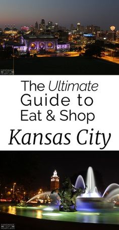 The Ultimate Guide to Eat & Shop in Kansas City, Whether you are traveling to KC or a local this guide will give you new places to try!