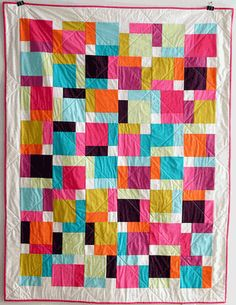 disappearing 9 patch solids- love