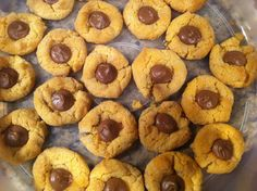 PKU Peanut Butter Blossoms - adapted from Low Protein Cookery for PKU (R&W cookbook).