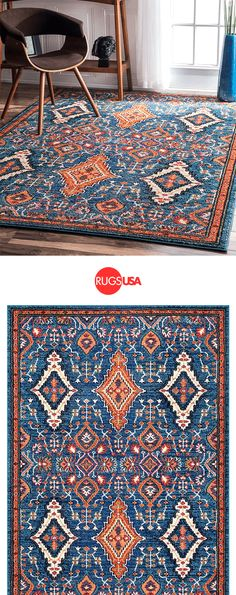 Warm up any room with a plush rug in a variety of colors, styles and features at Rugs USA. Choose from 1000s of styles, sizes, colors, prints and textures to make your house feel like a home. Shop now and get 10% off with code RUGSPIN10 at rugsusa.com