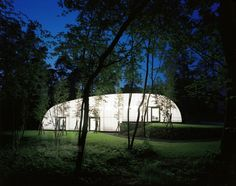 centre for group dynamics, belgium, by dethier architectures - designboom