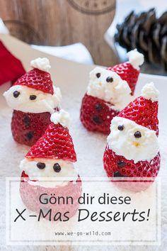 Weihnachtsdessert leicht gemacht: 12 gesunde Rezepte ohne Zucker Low Carb Sweets, Food Art, Healthy Recipes, Healthy Food, Raspberry, Fruit, Drinks, Recipes, Healthy Desserts