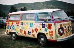 Lovely hippie camper