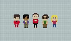 Hey, I found this really awesome Etsy listing at https://www.etsy.com/listing/179452025/the-big-bang-theory-cross-stitch-pattern