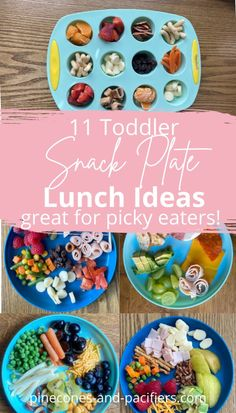 Healthy Toddler Lunches, Healthy Toddler Breakfast, Healthy Toddler Meals, Kids Meals, Lunch Snacks, School Snacks, Plate Lunch, Food Ideas, Meal Ideas