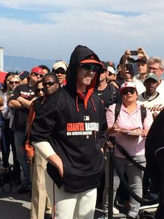 .@timlincecum prepares to unveil his plaque on the Portwalk, commemorating his 2nd no-hitter on 6/25