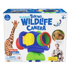 Geosafari Jr Talking Wildlfe Camera