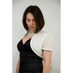 Brautjäckchen Strickbolero Gr. 34 - A Little Fashion #fashion #inspiration #trend #fall #winter #summer #spring #pantone #frühjahr #sommer #herbst #style #outfit #ootd #filizity