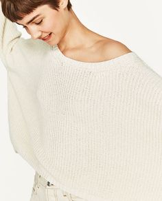 b6fd6475a9017 Image 7 of BOATNECK SWEATER from Zara Boat Neck