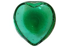 Emerald Murano Heart Bowl on OneKingsLane.com
