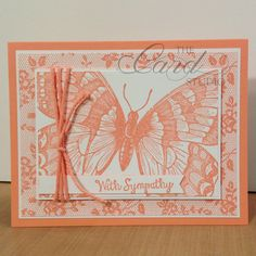 Handmade by Whitney, The Card Studio, Made with: Stampin' Up! - Swallowtail, I love lace, Thick bakers Twine