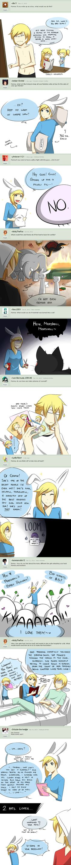 Ask Fionna - Dump 2 by Katkat-Tan on deviantART