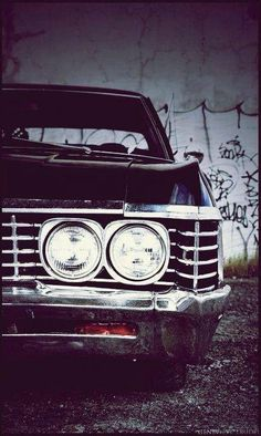 Chevy impala 67 - winchester approved - Used Chevrolet Impala For Sale Online Chevrolet Impala 1967, Impala 67, Supernatural Wallpaper, Supernatural Memes, Supernatural Background, Supernatural Bunker, My Dream Car, Dream Cars, Toyota