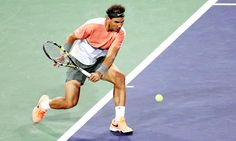 2014 BNP Paribas Open Second Round; Rafael Nadal def. Radek Stepanek 2-6, 6-4, 7-5
