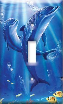 Sunlit Dolphins Switch Plate - Single Toggle by Art Plates, http://www.amazon.com/dp/B002F90UDG/ref=cm_sw_r_pi_dp_VPeKrb1Q4PYRH