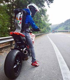 #Tire #Motorcycle #Instagram #Ducati Biker Queen, Helmet, Supermoto, Motorcycle racing - Follow #extremegentleman for more pics like this!