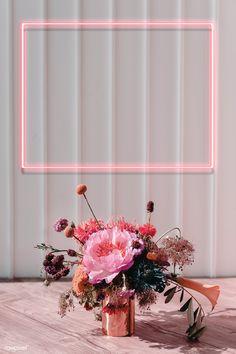 Gold Wallpaper Background, Framed Wallpaper, Flower Phone Wallpaper, Neon Wallpaper, Frame Background, Aesthetic Pastel Wallpaper, Wallpaper Backgrounds, Pink Wallpaper Floral, Pink Walpaper