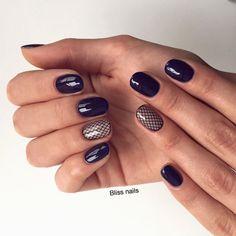 Accurate nails, Evening nails, Festive nails, Nail designs, Nails ideas 2016, Original nails, ring finger nails, Shellac nails 2016