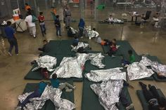 """Here's everything we know so far about the detention centers on the U.S–Mexico that house immigrant children separated from their families as a result of the Trump administration's """"zero-tolerance"""" immigration policy. Parenting After Separation, Family Separation, Theresa May, Rio Grande City, Immigration Policy, Immigration Enforcement, A Team, American Dreams, Dreams"""