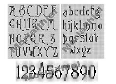 Instant Download Burton's Nightmare Filet Crochet by Morlaithiel