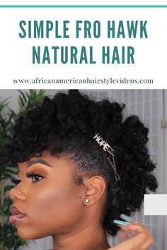 Your hair has NEVER been this defined 😳 This is soooo cute. Thank you bc I def be needing some ideas for my natural hair. This is perfection!! It looks so healthy too! How To Grow Natural Hair, Natural Hair Styles, Aztec Clay, African American Hairstyles, Flawless Makeup, Prom Hairstyles, Avocado Oil, Hair Videos, Hair Hacks