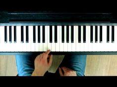 Klavier lernen - Einfache Popballade auf dem Klavier spielen Anfänger - Song Piano Tutorial - YouTube
