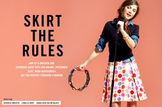 #dresscolorfully skirt the rules