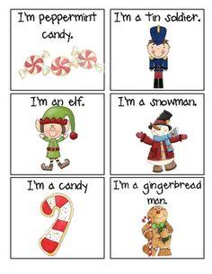Holiday Hedbanz Cards!! Develop your ELLs' vocabulary. I LOVE Hedbanz!! :P
