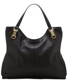 Vince Camuto Riley Leather Tote | macys.com