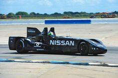 DeltaWing, a Nissan-powered race Batmobile, zooming into Le Mans