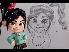 Upon a special request I have decided to teach you guys how to draw Vanellope Von Schweetz from Wreck it Ralph. I do have one major technology flop in this v. Moana Drawing, Rapunzel Drawing, Disney Princess Drawings, Disney Drawings, How To Draw Tigger, Toothless Drawing, Draw Pokemon, Drawing Lessons For Kids, Animation Tutorial