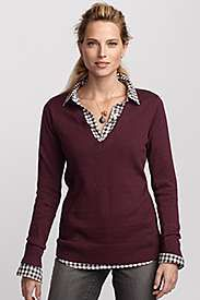 Wear my plum V neck sweater with a black n white checked shirt with mu grey jeans. Prep Style, Cool Style, My Style, Layering Outfits, Gingham Shirt, Black N White, Eddie Bauer, Grey Sweater, Timeless Fashion