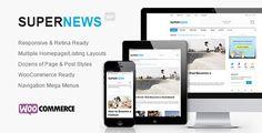 Download – SuperNews – Ultimate WordPress Magazine Theme