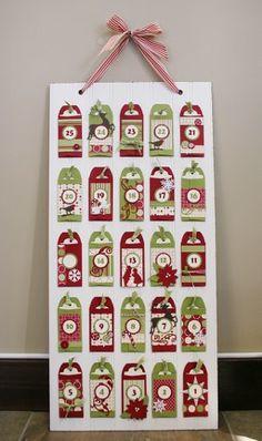 In the Pocket Advent Calendar | AllFreeHolidayCrafts.com