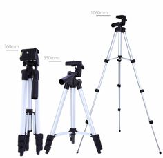 Main Features: - Lightweight aluminum 4-section leg and ABS parts, portable and durable - Quick release plate with standard 1/4 inch mounting screw to connect camera or camcorder - Built-in bubble lev