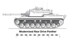 Modern Rear Drive Panther - Claymore/Not James Stockdale.