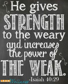 Are you weary?#findstrengthhere #leanwellness