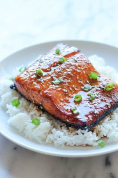 Sesame Ginger Salmon - Damn Delicious. Notes: 1.26.14- made this on the grill. Marinade for 1 hr. Cooked on foil and then drizzled glaze while still on grill. Made full marinade for 2 salmon fillets. DELISH! Will definitely repeat.