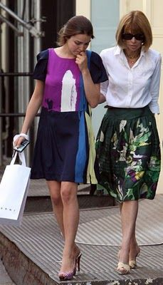 Anna Wintour & daughter Bee