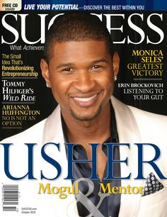 Usher enjoys outing with sons VIP tour of The Voice 90s R&b Groups, Trap Music, Music Radio, Usher Raymond, Erin Brockovich, Success Magazine, Newspaper Cover, The Music Man, New Girlfriend