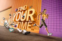 AVIA: FIND YOUR TIME on Behance by Mike Campau