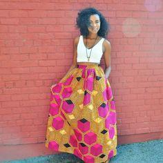 Emily Maxi Skirt- Chen Burkett New York