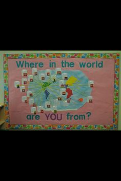 Multicultural: Where In The World Are You From?