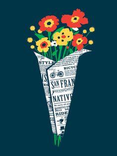 Buquês são flores mortas em um lindo arranjo.