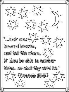 Afbeeldingsresultaat voor genesis coloring page Sunday School Activities, Sunday School Lessons, Abraham Bible Story, Christian Affirmations, Bible Resources, Bible Coloring Pages, Christian Resources, Bible Stories, Homeschool