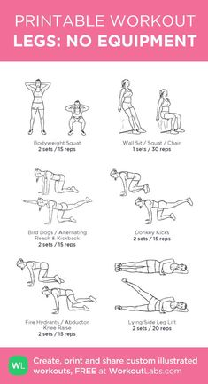 The Best Workouts Programs: Weight Free Total Workout – Fitness Ideas Fun Workouts, At Home Workouts, Total Gym Workouts, Leg Workout At Home, Leg Workout Women, Arms And Legs Workout, Free Weight Leg Workout, Best Leg Workout, Weight Lifting Workouts